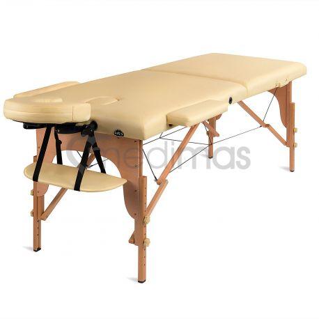 Masážní lehátko skládací dřevěné dvouzónové Prosport 2