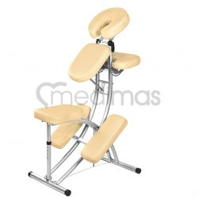Masážní židle skládací hliníková  Delta